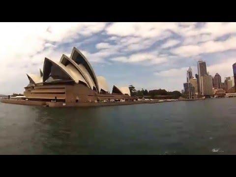 Boat trip - Sydney, Australia - time lapse - GoPro hero3