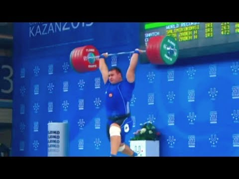 "Best of  Weightlifting ""Russia vs. Iran"" - 2013"