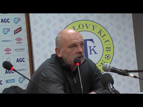 Tisková konference hostujícího trenéra po zápase Teplice - Slovácko (30.4.2017)
