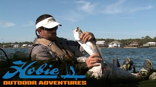 Hobie Outdoor Adventures - Episode 06 - Alabama Winter Fishing/TransparentSea - [ HD ]