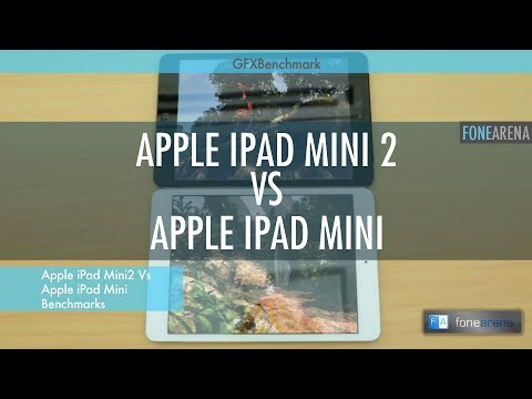 Apple iPad Mini With Retina Display vs iPad Mini Benchmarks