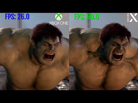 Marvel's Avengers Xbox One vs. Xbox Series X comparison | Graphics Load times and FPS