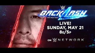 Shinsuke Nakamura is coming to WWE Backlash on May 21