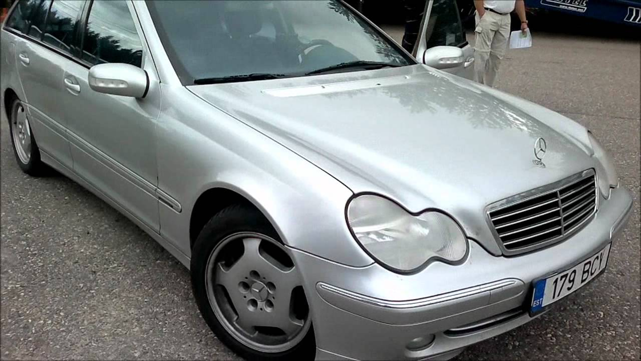 Mercedes Benz C270 Cdi Avantgarde 2001 Youtube