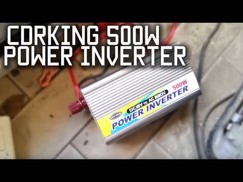 CDR King 500 watt power inverter