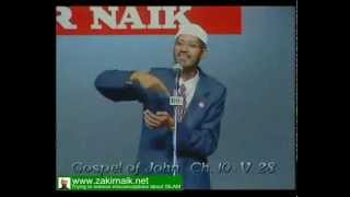 Zakir Naik Q&A-28  |   Boy challanging to zakir naik that Jesus was GOD