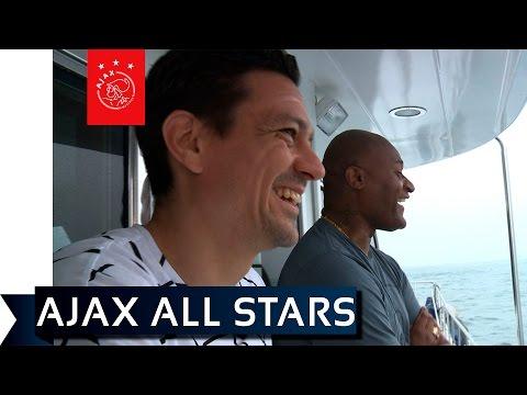De Ajax All Stars namen dit jaar deel aan het toernooi om de Hong Kong Soccer Sevens. Het team ging vooraf letterlijk het schip in.