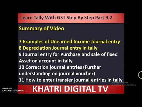 Step by step full tally with GST in hindi Part 9.4