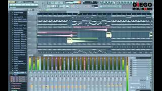 FL Studio Remake: Afrojack - Rock The House(?) Full Remake [DiegoMolinams]