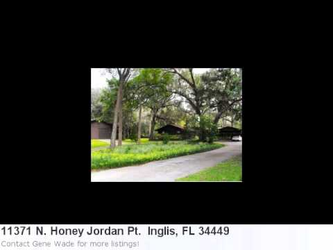 Real Estate Listing In Inglis, Fl - 2 Bedroom, 2 Bath Home L