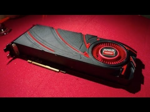 First Look: AMD RADEON R9 290X -