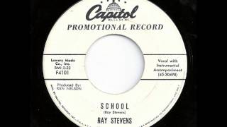 School - Ray Stevens