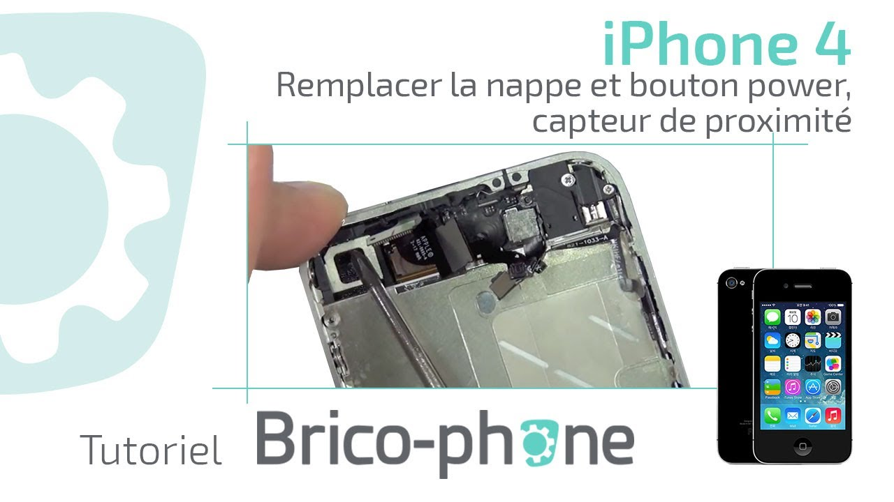 comment reparer le bouton verrouillage iphone
