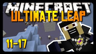 Minecraft: GOING TO AUSTRALIA! - Ultimate Leap Parkour - 11-17
