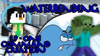 WATERBENDING | 1.9 One Command Block Creation: Minecraft