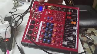 Hướng Dẫn Kết Nối Livestream Trên Mixer SMR 401 Cùng micro PC K220 LH: 0937381978