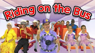 Ridin' on the Bus | The Wheels on the Bus Song | Jack Hartmann