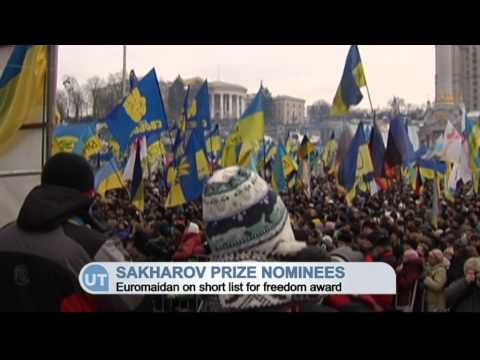 Euromaidan Could Win EU Human Rights Award: Ukraine protests on Sakharov Prize shortlist