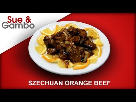 Szechuan Orange Beef