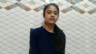 Sweetest sub tera song play by 14 yers girl....
