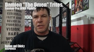 """Damien """"The Omen"""" Trites on Being a Pro MMA Fighter"""