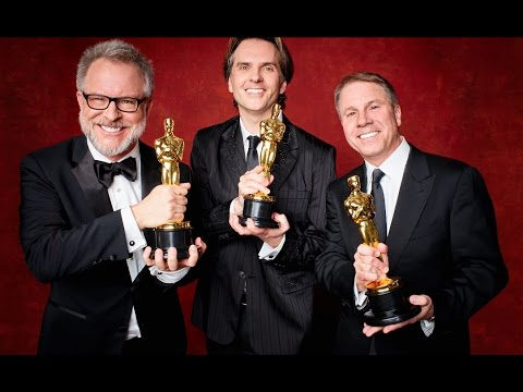 Zootopia Oscars Carpet 2017 - Rich Moore, Byron Howard And Clark Spencer