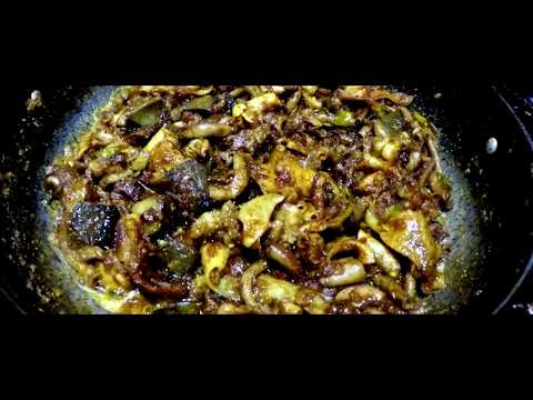 Goat intestine fry | Goat Intestine Recipe - Spicy Boti Curry - Goat Intestine deep fried