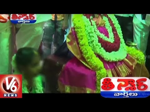 Shocking: Girl Married Lord Venkateswara Swamy In Rayadurgam | Anantapur | Teenmaar News | V6