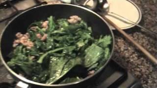 Cooking | Pasta con salsiccia e friarielli broccoli | Pasta con salsiccia e friarielli broccoli