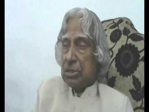 Dr APJ Abdul Kalam on 'political role model'