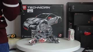 Mở hộp Lepin 20001b Lego Technic 42056 Porsche 911 GT3 RS giá sốc rẻ nhất