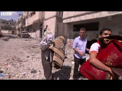 Gaza truce: Smell of destruction in the air, BBC News
