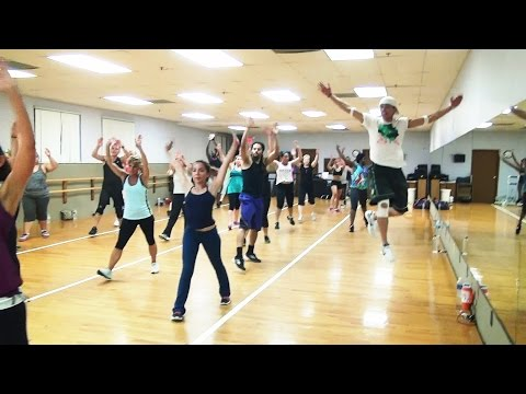 Slinky Dance Fitness - Full 55 Minute Intense Class! (classic Playlist) video