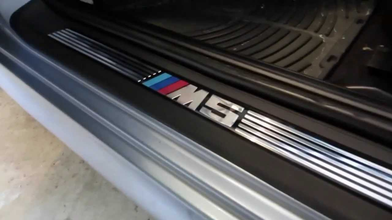 BMW E39 5-Series Door Sill Replacement - YouTube