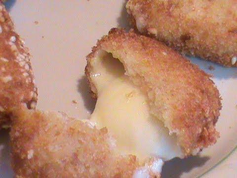 Как жарить сыр - видео