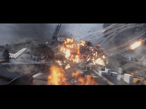 Captain America: The Winter Soldier- Clip: The Destruction of the Helicarriers (1080p