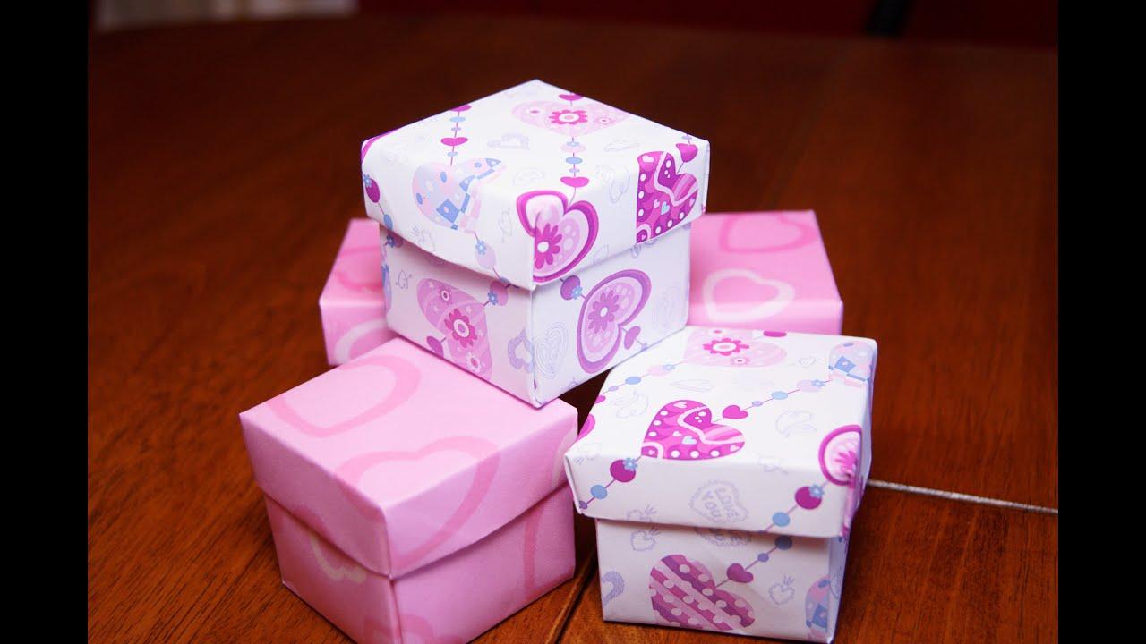 Оригами своими руками коробочка