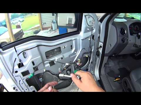 Window Motor Replacement on '04 - '08 Ford F-150 Lincoln Mark LT