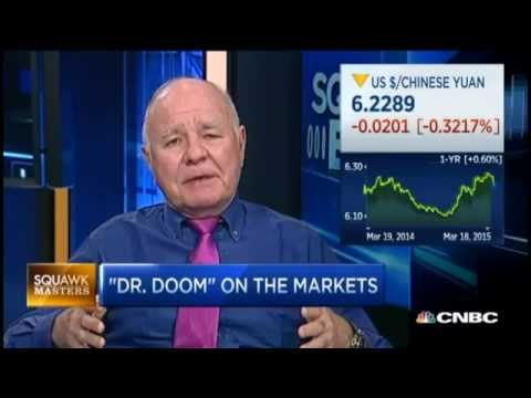 Marc Faber: China Wants To Establish The Yuan As An International Currency
