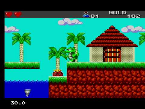 Wonder Boy 3, the dragon's trap, Master System