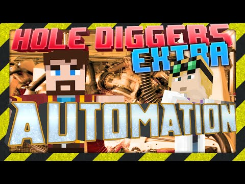 Minecraft - Automation - Hole Diggers Extra 4 video