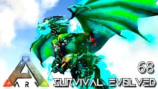 ARK: SURVIVAL EVOLVED - NEW TEK DRAGON BAHAMUT FOREWORLD MYTH !!! E68 (MODDED ARK EXTINCTION CORE)