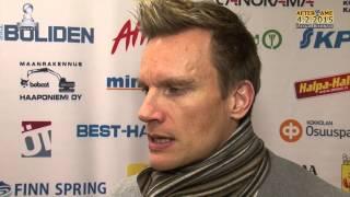 Tiikerit - Liiga-Riento ke 4.2.2015 Tuomas Sammelvuo