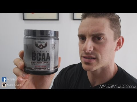 Mike Rashid IMSOALPHA Instantized BCAA Supplement Review - MassiveJoes.com Raw Review