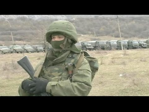 Russian Troops Deployed to Ukraine Border