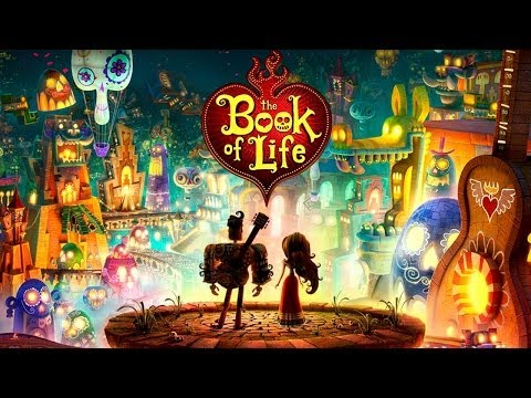 THE BOOK OF LIFE Trailer (Guillermo Del Toro - 2014)