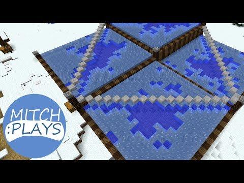 Easy Minecraft 1.13 Ice Farm - Mitch Plays Minecraft - Ep 368