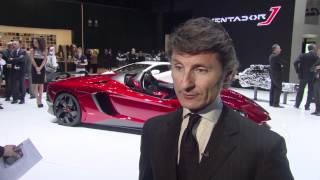 Lamborghini Aventador J – Geneva 2012