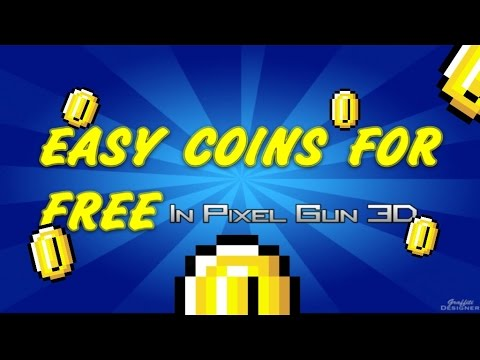 How To Get EASY Coins In Pixel Gun 3D [FREE] [PATCHED]