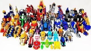 Dinosaur Robot Transformation Toys Play~! Dino Core, GeoMecha, Power rangers, Geo Mecha